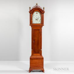 Inlaid Cherry Tall Clock