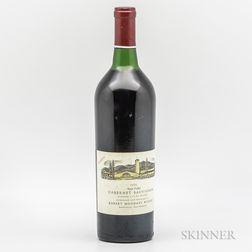 Robert Mondavi Cabernet Sauvignon Reserve 1974, 1 bottle