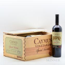 Caymus Cabernet Sauvignon Special Selection 1999, 6 bottles (owc)