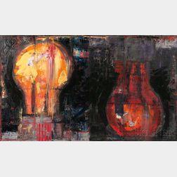 Aaron Fink (American, b. 1955)      Double Bulb