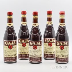 Gaja Barbaresco 1964, 5 bottles