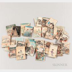 Twenty-nine Crepe Paperback Books from Japanese Fairy Tale Series