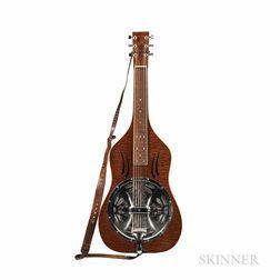 Fluger Weissenborn-style Resonator Guitar, c. 2000