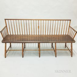 Bamboo-turned Windsor Bench