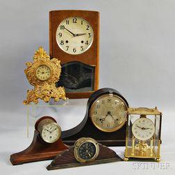 Six Shelf Clocks