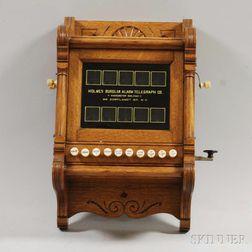 Holmes Burglar Alarm Control Panel