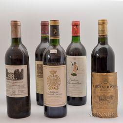 Mixed Bordeaux, 5 bottles