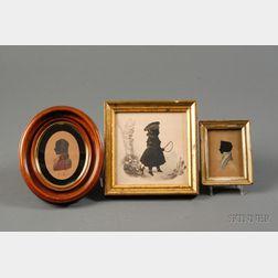Three Portrait Silhouettes