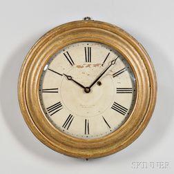 Brewster & Ingrahams Giltwood Gallery Clock