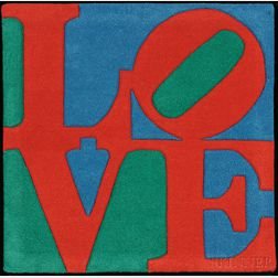 After Robert Indiana (American, b. 1928)      Classic Love