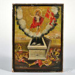 Eastern European Painted Icon