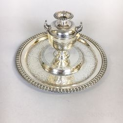 George Angell Sterling Silver Inkwell