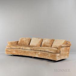 Edward Wormley (1907-1995) for Dunbar Curved-front Sofa