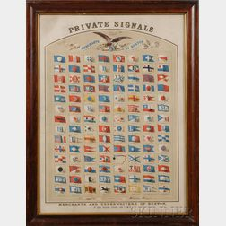 PRIVATE SIGNALS of the MERCHANTS of BOSTON