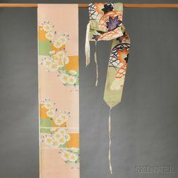 Two Obi Textiles