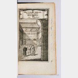 Saubert, Johann (1592-1646) Historia Bibliothecae Reip. Noribergensis, duabus Oratiunculis illustrata, quarum altera de ejus Structorib