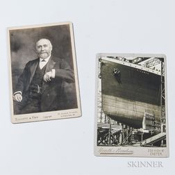 Two Titanic   Cabinet Cards
