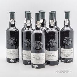 Taylor Fladgate Vintage Port 1992, 9 bottles