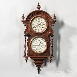 Wagner Calendar Clock by Welch, Spring & Co.