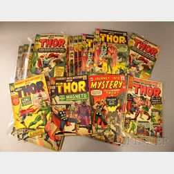 Forty-nine Silver Age Journey Into Mystery Starring The Mighty Thor