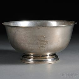 "International Sterling Silver ""Paul Revere Reproduction"" Bowl"