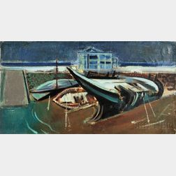 Joseph Floch (American/Austrian, 1895-1977)      Shipwreck