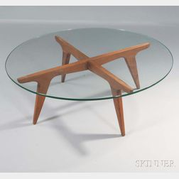 Coffee Table in the Style of Gio Ponti
