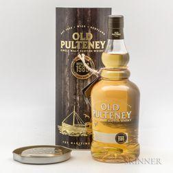 Old Pulteney 1989, 1 750ml bottle (ot)