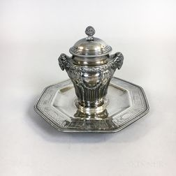 Tiffany & Co. Sterling Silver Inkwell