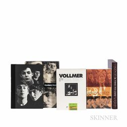 Four Genesis Publications Limited Edition Monographs on The Beatles