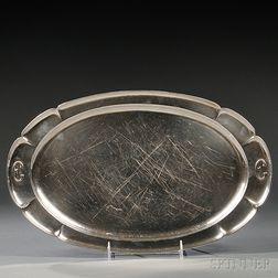 Kalo Shop Arts & Crafts Sterling Silver Tray