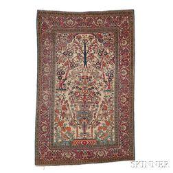 Antique Isphahan Rug