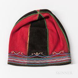 Labrador Bead-decorated Cloth Hat