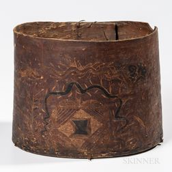 Northeast Birch Bark Box