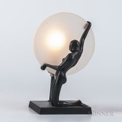 Frankart Figural Lamp