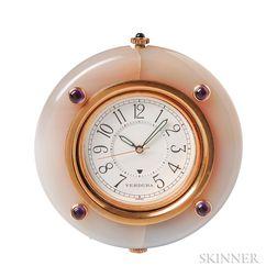 Hardstone Travel Alarm Clock, Verdura