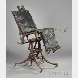 Dr. Byrne's Medical Examination Chair