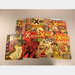 Seventeen Silver Age The X-Men