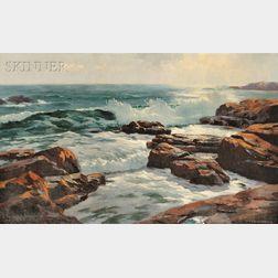 Charles Gordon Harris (American, 1891-1963)      Summer Day, Narragansett Pier