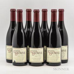 Kosta Browne, 7 bottles