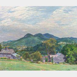 Herbert Meyer (American, 1882-1960)  A Pawlet Farm