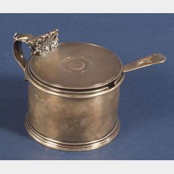 William IV Silver Mustard Pot