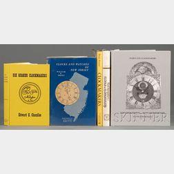 Five Titles on Regional American Clockmaking