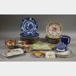 Lot of Assorted Porcelain and Pottery Tableware