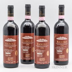 B. Giacosa Barolo Falletto Serralunga dAlba Riserva 1996, 4 bottles