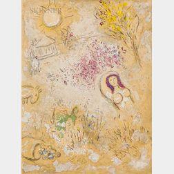 Marc Chagall (Russian/French, 1887-1985)      Chloé