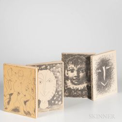 Picasso, Pablo (1881-1973) Lithographe  , Volumes I-IV.