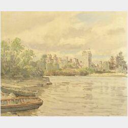 Robert Taylor Carson (Irish, b. 1919)  Ashford Castle