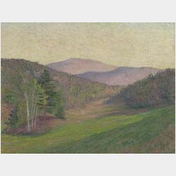 Lilla Cabot Perry (American, 1848-1933)  Monadnock from Hancock N.H., Late Afternoon