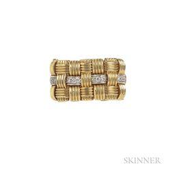 "18kt Gold and Diamond ""Appassionata"" Ring, Roberto Coin"